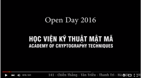 OPEN DAY KMA 2016