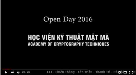 OPEN DAY KMA 2016
