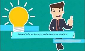 [TUYỂN SINH 2016]: Những điểm mới trong xét tuyển đại học năm 2016
